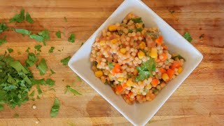 Delicious Couscous and Veggies - healthy recipe channel