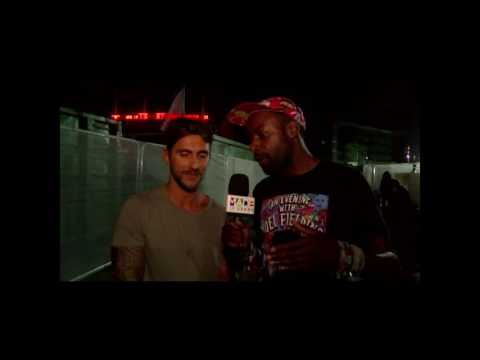 Ben Randm interviewing Hot Since 82