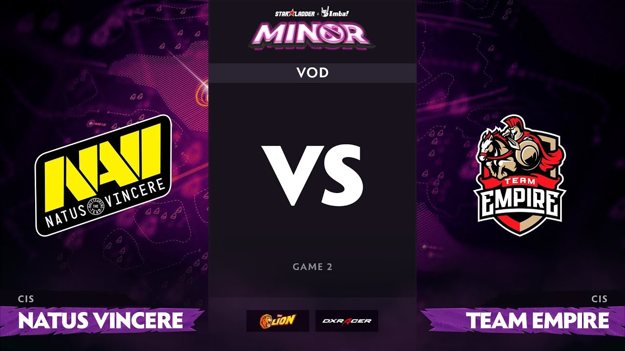[RU] Natus Vincere vs Team Empire, Game 2, Part 1, StarLadder ImbaTV Minor S2 CIS Qualifiers