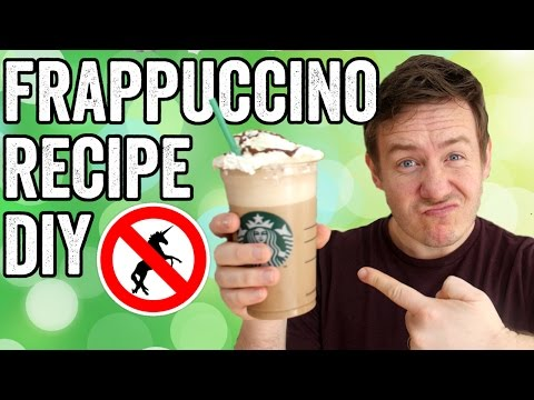 How to make a mocha frappe at home like starbucks