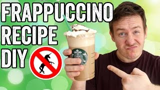 HOMEMADE MOCHA FRAPPUCCINO RECIPE