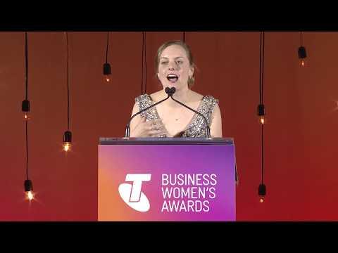 2017 Telstra Australian Capital Territory Business Women of the Year Award Winner - Elise Apollini