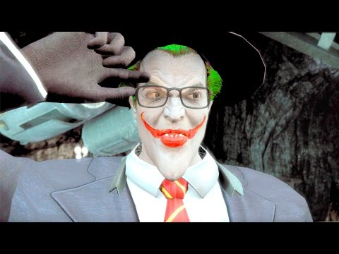 Injustice Gods Among Us The Joker Tourist Performs All Intros PC 4K U 2160p