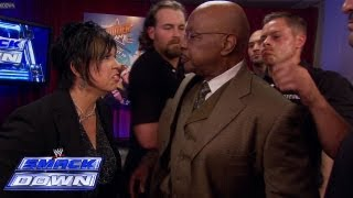 Vickie Guerrero has Theodore Long thrown off of SmackDown