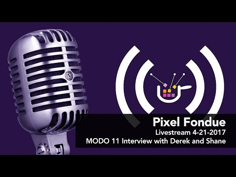 Special Pixel Fondue livestream with Shane Griffith and Derek Cicero from Foundry