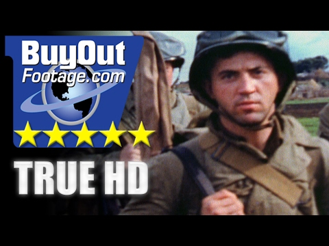 HD Historic Stock Footage WWII Color - GENERAL GEORGE PATTON | AMERICAN TROOPS IN FRENCH MOROCCO
