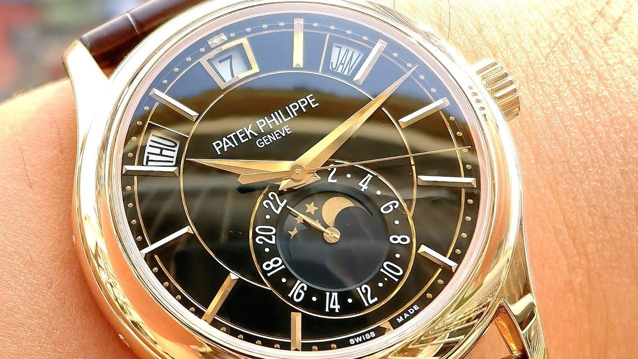 [Đồng Hồ Tuyệt Đẹp] Patek Philippe Annual Calendar Moonphase 40mm 5205R-010 | ICS Authentic