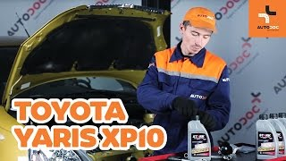 Replacing Spotlight Bulb on TOYOTA YARIS: workshop manual