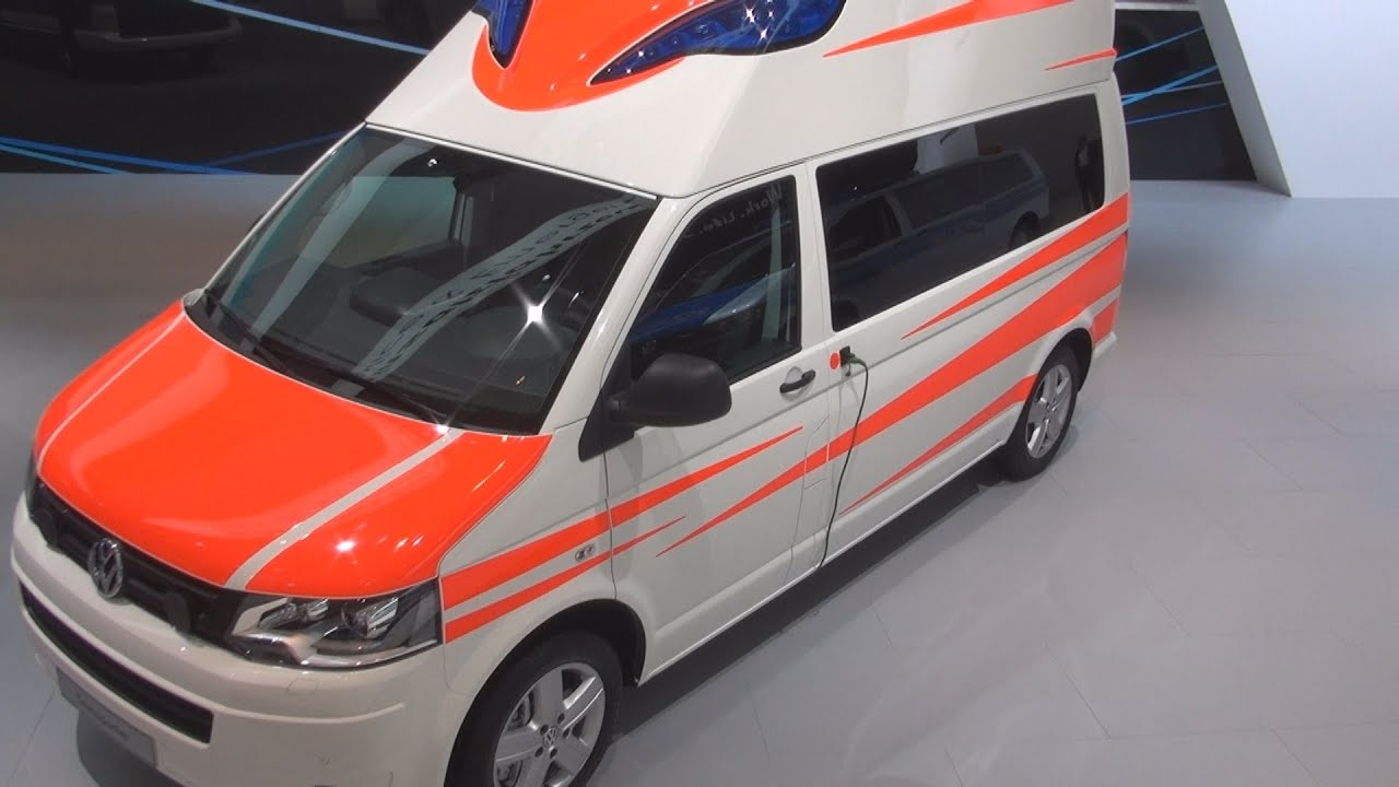 Volkswagen Transporter T5 Ambulance Exterior And Interior