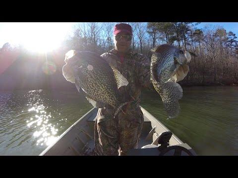 Crappie Fishing - Pre-Spawn Crappie On Lake Guntersville