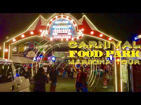 2017 Carnival Food Park Marikina Tour Gil Fernando Avenue by HourPhilippines.com
