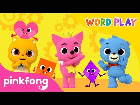 Feelings and more | Word Play | +Compilation | Pinkfong Songs for Children