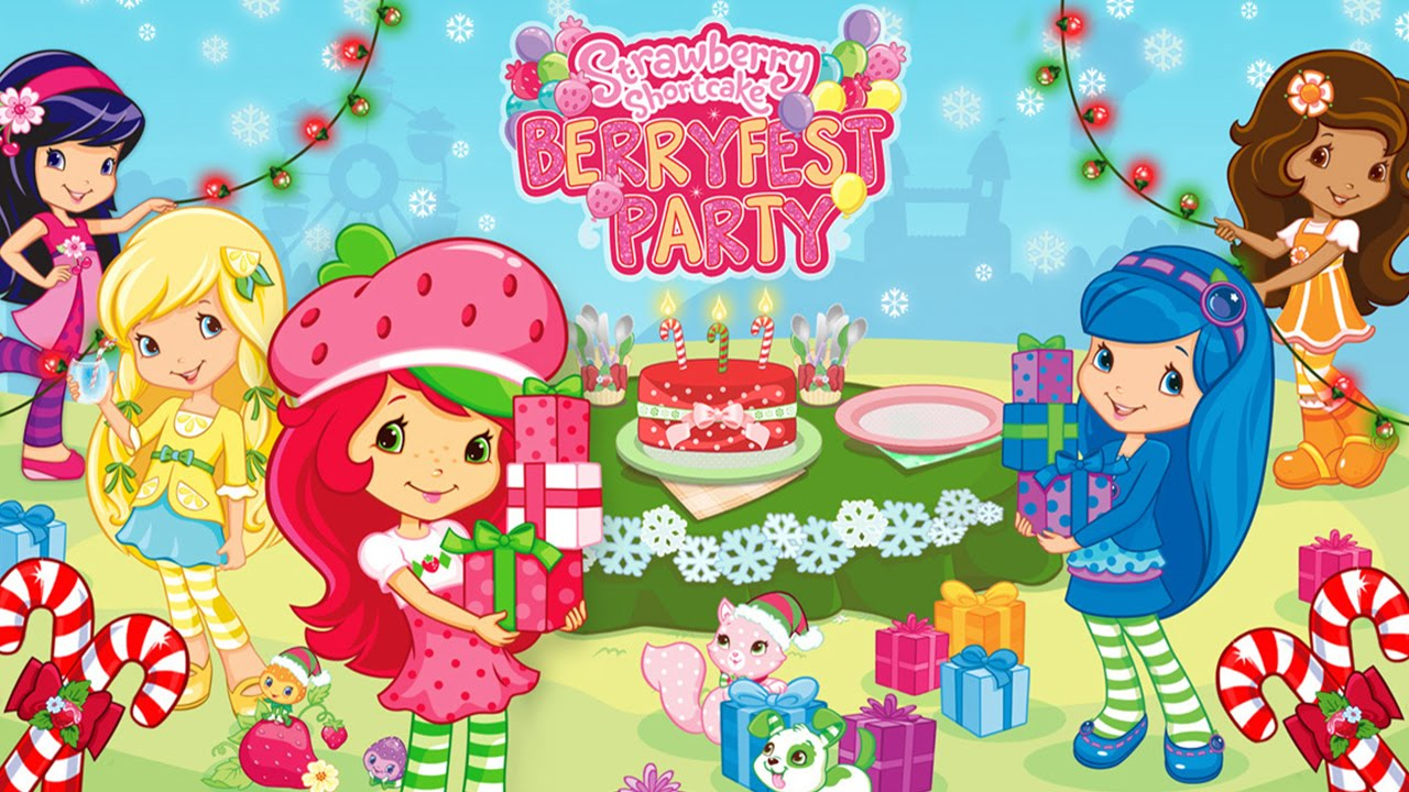 Uncategorized Strawberry Shortcake Christmas strawberry shortcake berryfest party new christmas edition best app for kids youtube