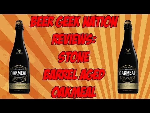 STONE 12TH ANNIVERSARY BITTER CHOCOLATE OATMEAL STOUT IN BOURBON BARRELS | BGN Beer Reviews