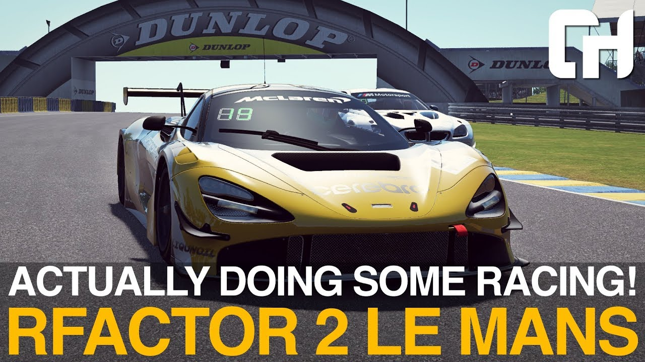 I'm actually doing some racing! | rFactor 2 Le Mans