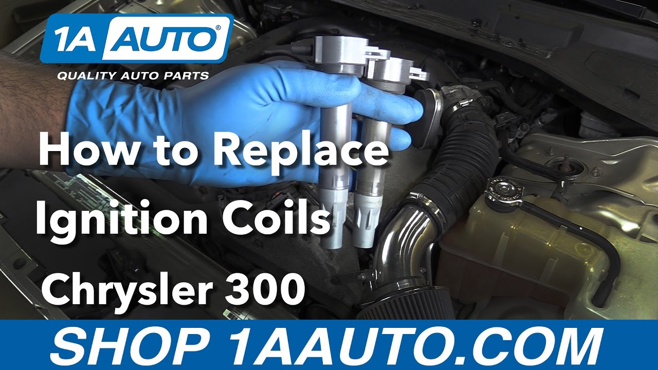 How To Replace Ignition Coils 06 10 Chrysler 300 Youtube