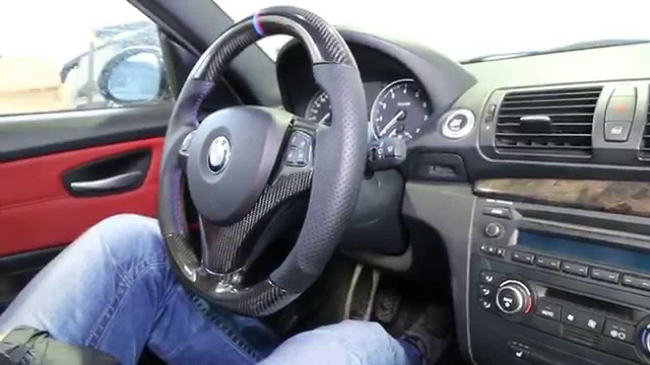 Bmw Custom Carbon Fiber Steering Wheel E90 E91 E92 E93 E82