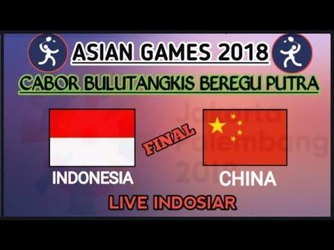 Jadwal Final Bulutangkis Indonesia Vs China Asian Games 2018 Live