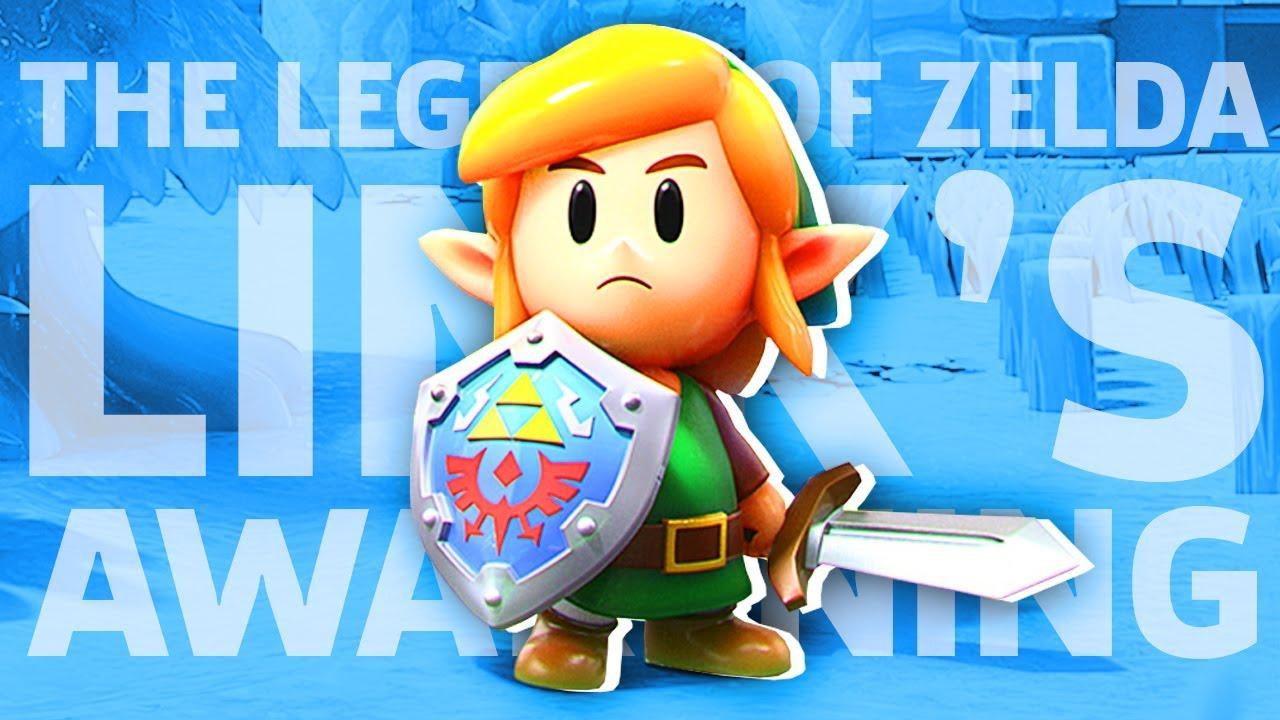 The Legend Of Zelda Link S Awakening Gamespot Live Youtube