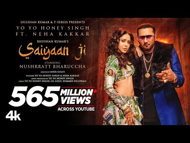 Saiyaan Ji ► Yo Yo Honey Singh, Neha Kakkar|Nushrratt Bharuccha|  Lil G, Hommie D| Mihir G|Bhushan K