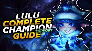 Lulu Support Gameplay - Patch 10.1 (League of Legends Gameplay)