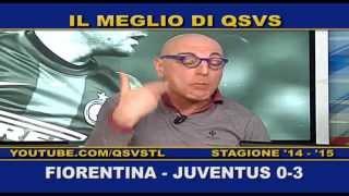 QSVS - I GOL DI FIORENTINA-JUVENTUS 0-3  - TELELOMBARDIA / TOP CALCIO 24
