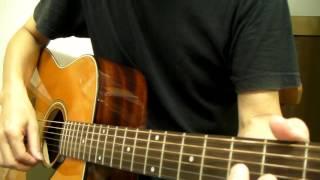 使用ギターはYAMAHA FG180-50THです。