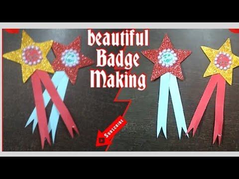 DIY 2 Beautiful Badge for Teachers | Perfect Teachers Gift idea | Badge Making | Badge for Teachers