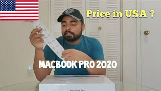 MacBook Pro 2020 Unboxing | MacBook Pro price in USA | This is how I changed my MacBook