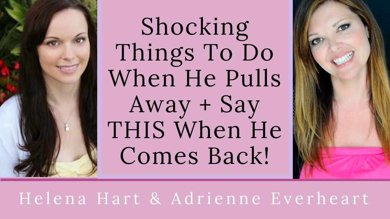 5 Shocking Things To Do When A Man Pulls Away Or Needs Space + Say THIS  When He Comes Back!