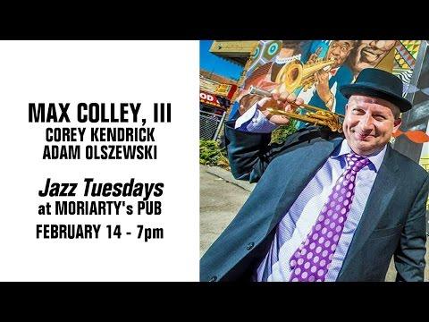 Jazz Tuesdays with Max Colley, Corey Kendrick, Adam Olszewski, Jeff Shoup (2/14/17)