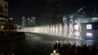 Dubai Fountain 2016 Arabic Music 4K