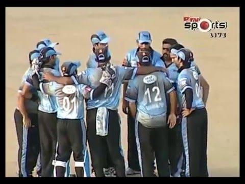 Kamran Hussain & Zahir Siddiqui Bowling against FATA Haier T20 Cup 2015