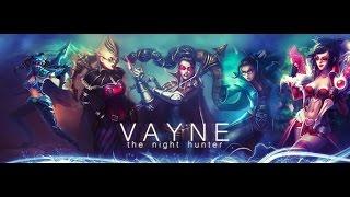 gL Xvasien - Vayne Montage Gameplay Skills S6