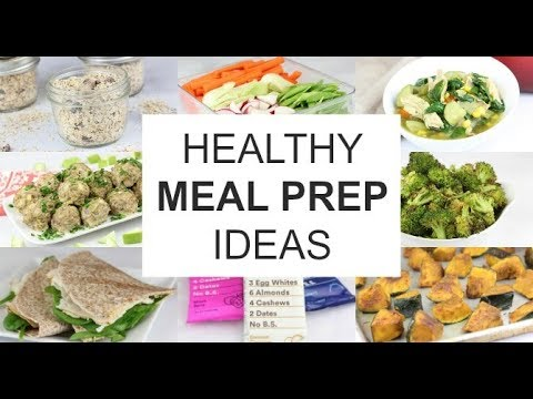 Healthy Holiday Meal Prep Ideas | A Weeks Worth of Clean Eats