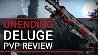 Destiny: Unending Deluge III Machine Gun PvP Review