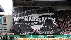 SpVgg Fürth - VfB Stuttgart  - Choreo - 19/20 Ultras Stuttgart Cannstatter Kurve TV