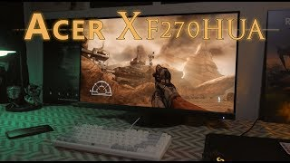 acer XF270HUA Review - 1440p 144Hz Gaming Monitor with Freesync and an IPS Panel