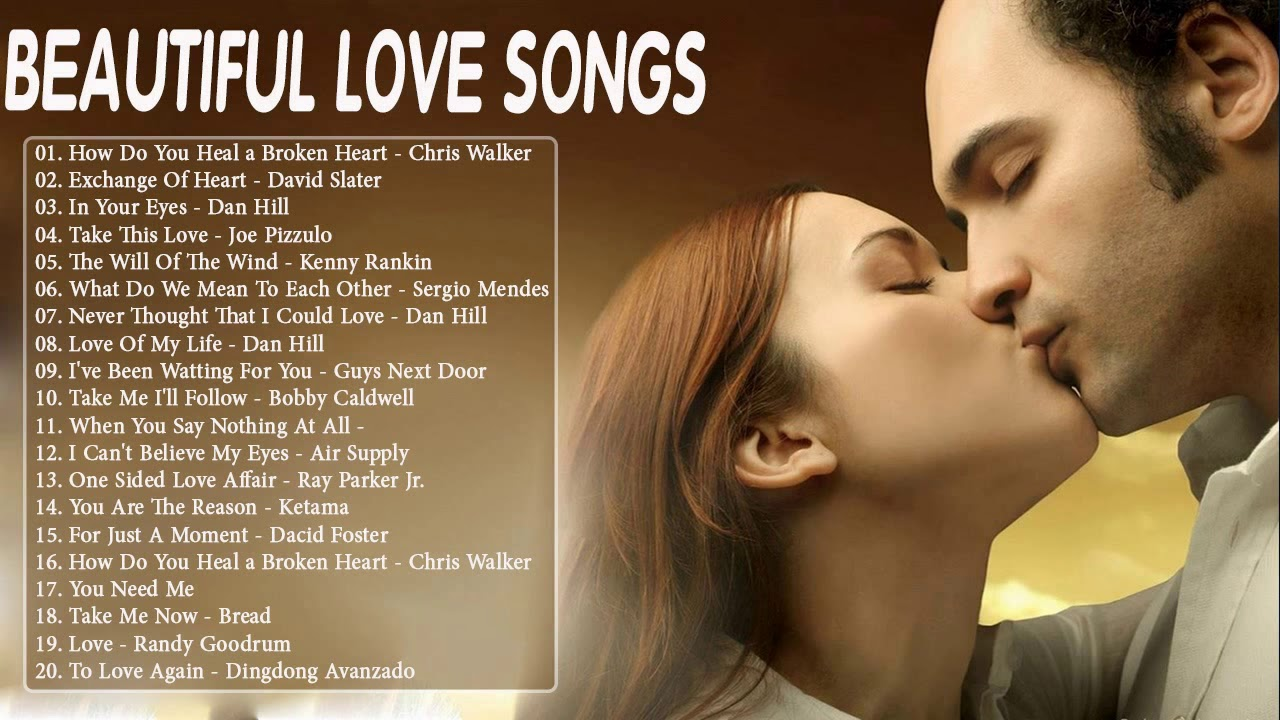 Greatest romantic songs of all time