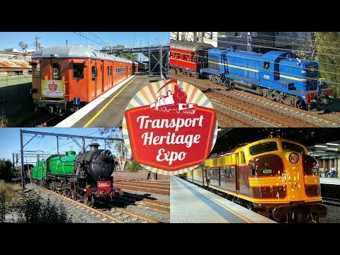 Sydney Trains Vlog 1336: NSW Transport Heritage Expo 2016 + The Great Train Race