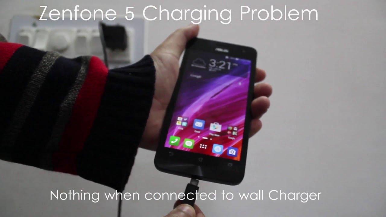 Asus Zenfone 5 Charging Problem Youtube