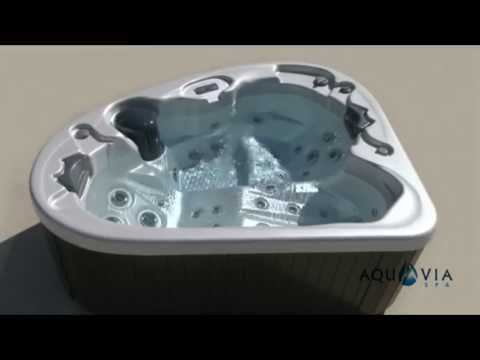 Spa jacuzzi 2 places calypso youtube - Jacuzzi 2 places exterieur ...