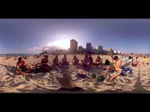 Rio 360 Video: Ipanema and Copacabana beaches