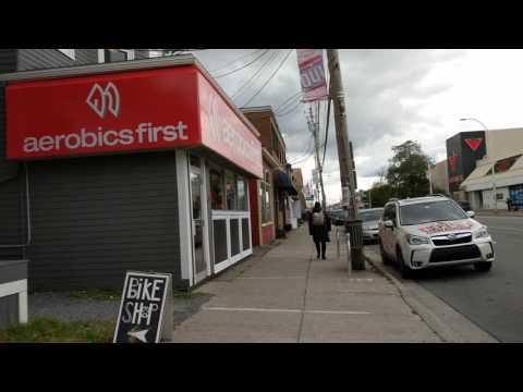 Google Pixel XL video sample (Quinpool Road, Halifax)