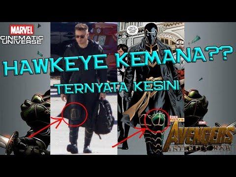 Ini Peran Hawkeye di Avengers Infinity War, Berkaitan Dengan RONIN & CAPTAIN MARVEL | MCU Indonesia