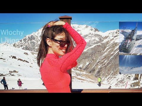Narty Livigno Alpy Ski Day 2019 Go Pro 7 Silver