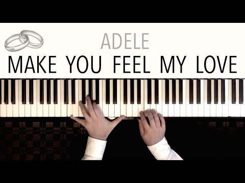 Adele - Make You Feel My Love  Piano Cover Mozart Style by Paul Hankinson