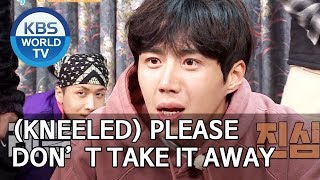 (Kneeled) PLEASE don't take the food away [2 Days & 1 Night Season 4/ENG/2019.12.22]