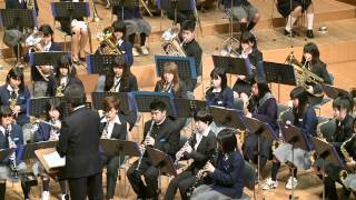 A Song for Japan (奈良市立都跡中学校吹奏楽部:MIATO Junior high school)