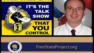 Free Talk Live interview Free State Project president Varrin Swearingen